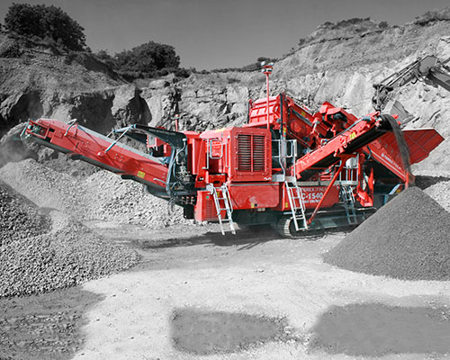 Terex-Finlay-C-1540P-Mobile Rock Crusher