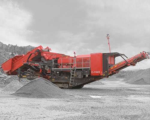 Terex-Finlay-C-1545P-Portable Rock Crusher