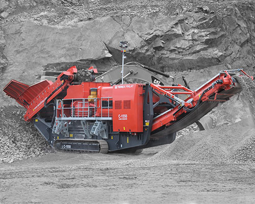 Terex-Finlay-C-1550-Tracked Cone Crusher