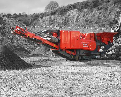 Terex-Finlay-I-100 Tracked Impact Crusher
