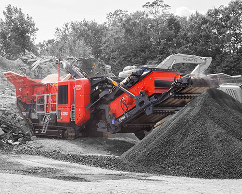Terex-Finlay-I-120RS- Horizontal Shaft Impactor