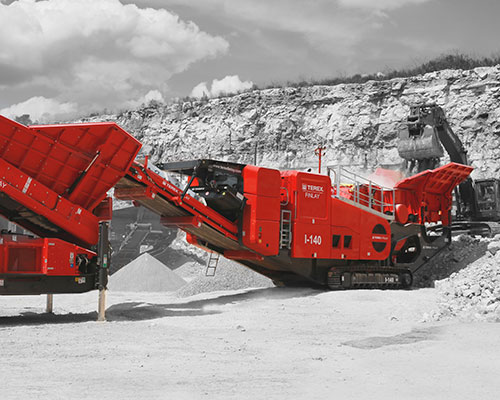 Terex-Finlay-I-140-Mobile Impact Crusher