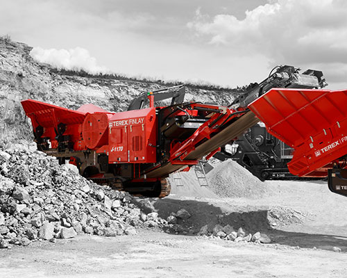 Terex-Finlay-J-1170 Tracked Jaw Crusher
