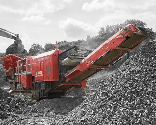 Terex-Finlay-J-1175 Mobile Jaw Crusher