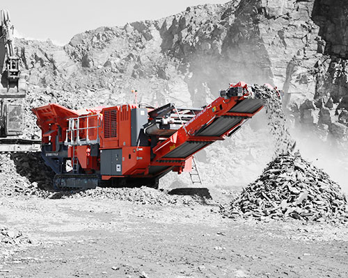 Terex-Finlay-J-1175dp Portable Jaw Crusher