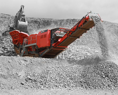 Terex-Finlay-J-1480 Mobile Rock Crusher