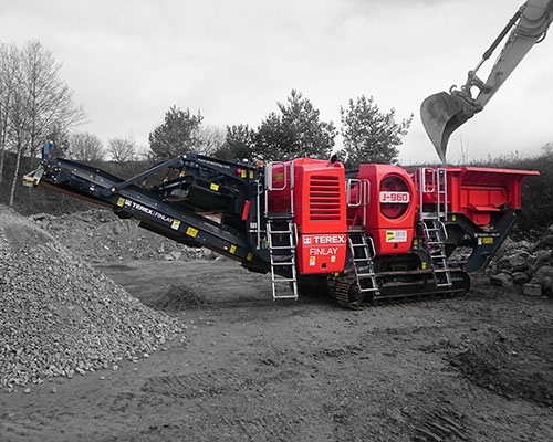 Terex-Finlay-J-960 Track Jaw Crusher