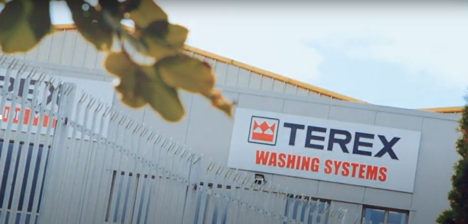 Terex Washing Systems Factory Sign