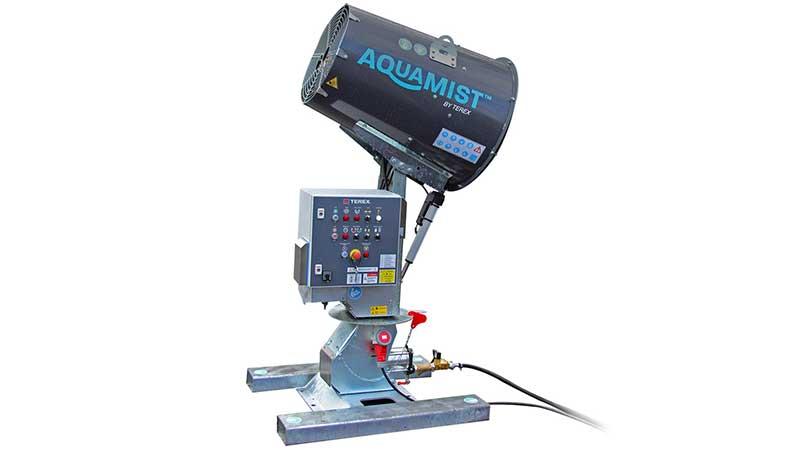 Aquamist Dust Suppression Machine