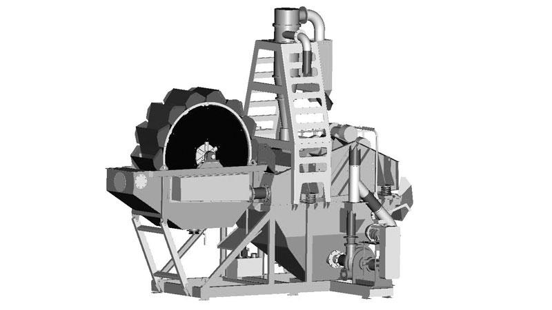 FM 60BW Bucket Wheel Plant