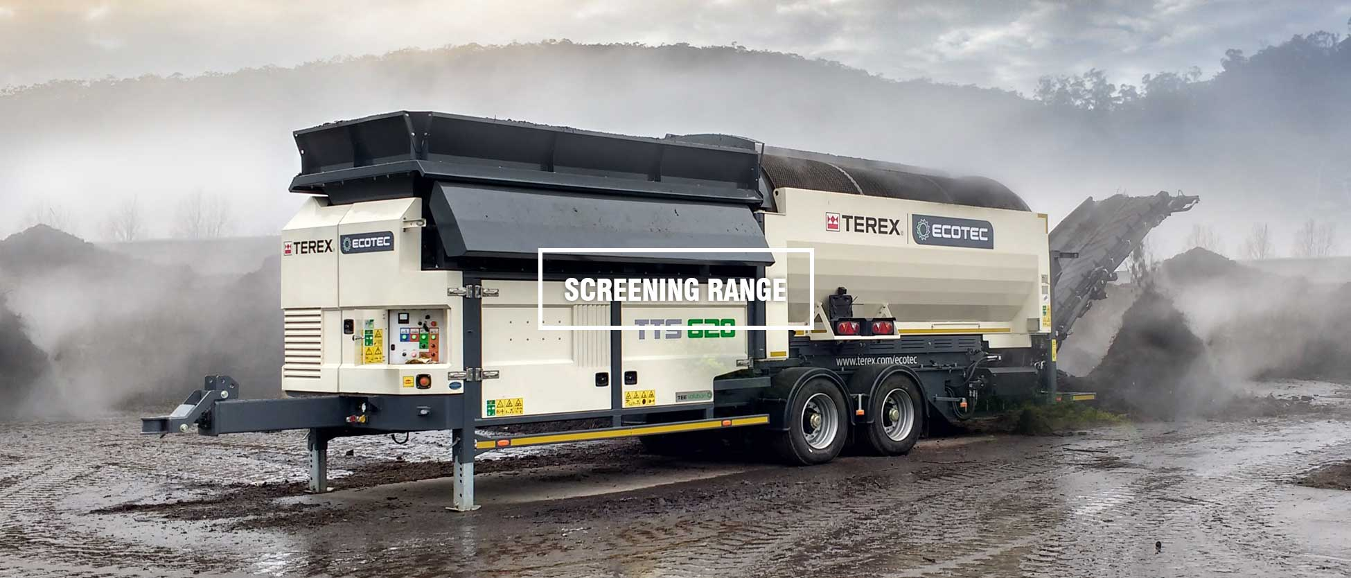 Terex Ecotec Screening Machine