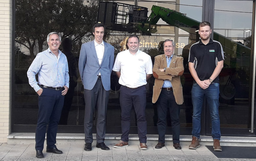 Terex Meet with New Distributor in Portugal