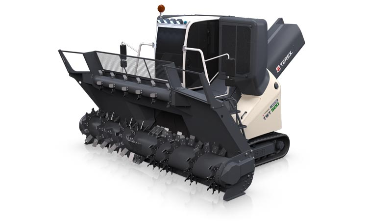 twt 500 Windrow Turner