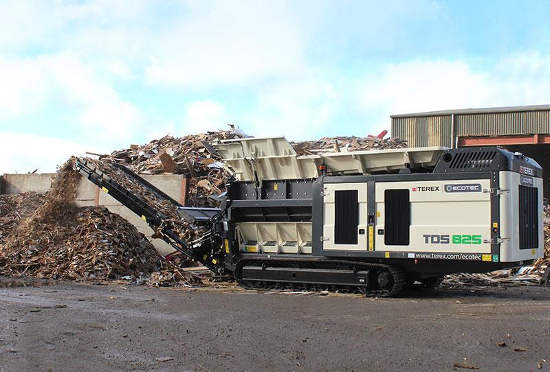 TDS 825 Waste Wood