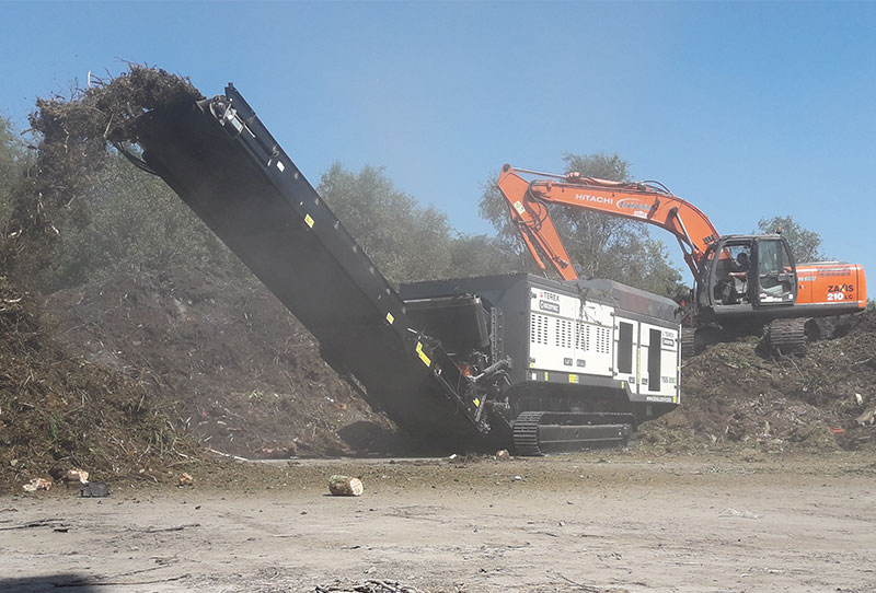 TSS 390T Green Waste
