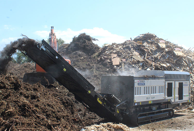 TSS 390T Green Waste 2