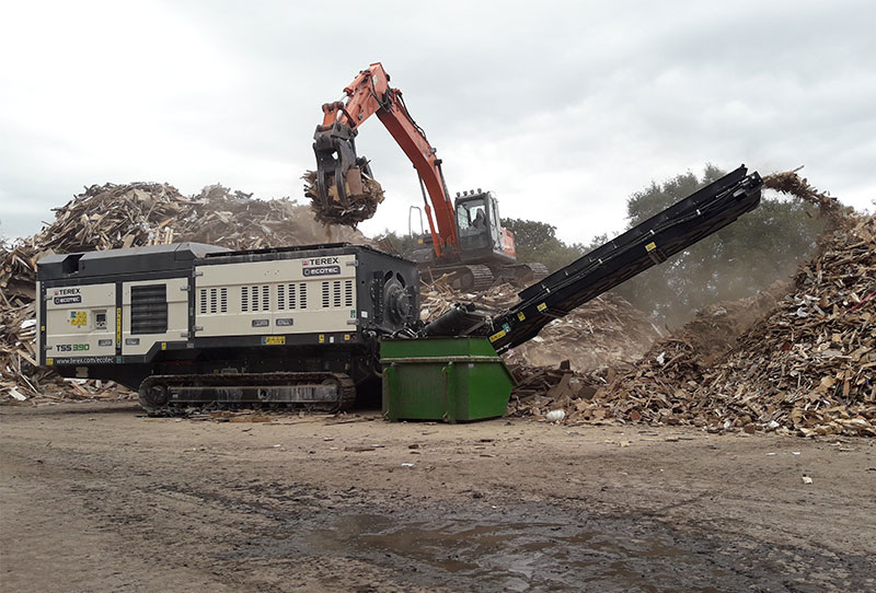 TSS 390T Waste Wood 1