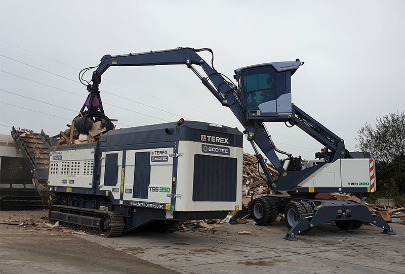 TSS 390T Waste Wood 2