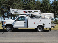 terex hi ranger telescopic aerial devices terex utilities 1990 Ford Ranger Wiring Diagram hi ranger l13i