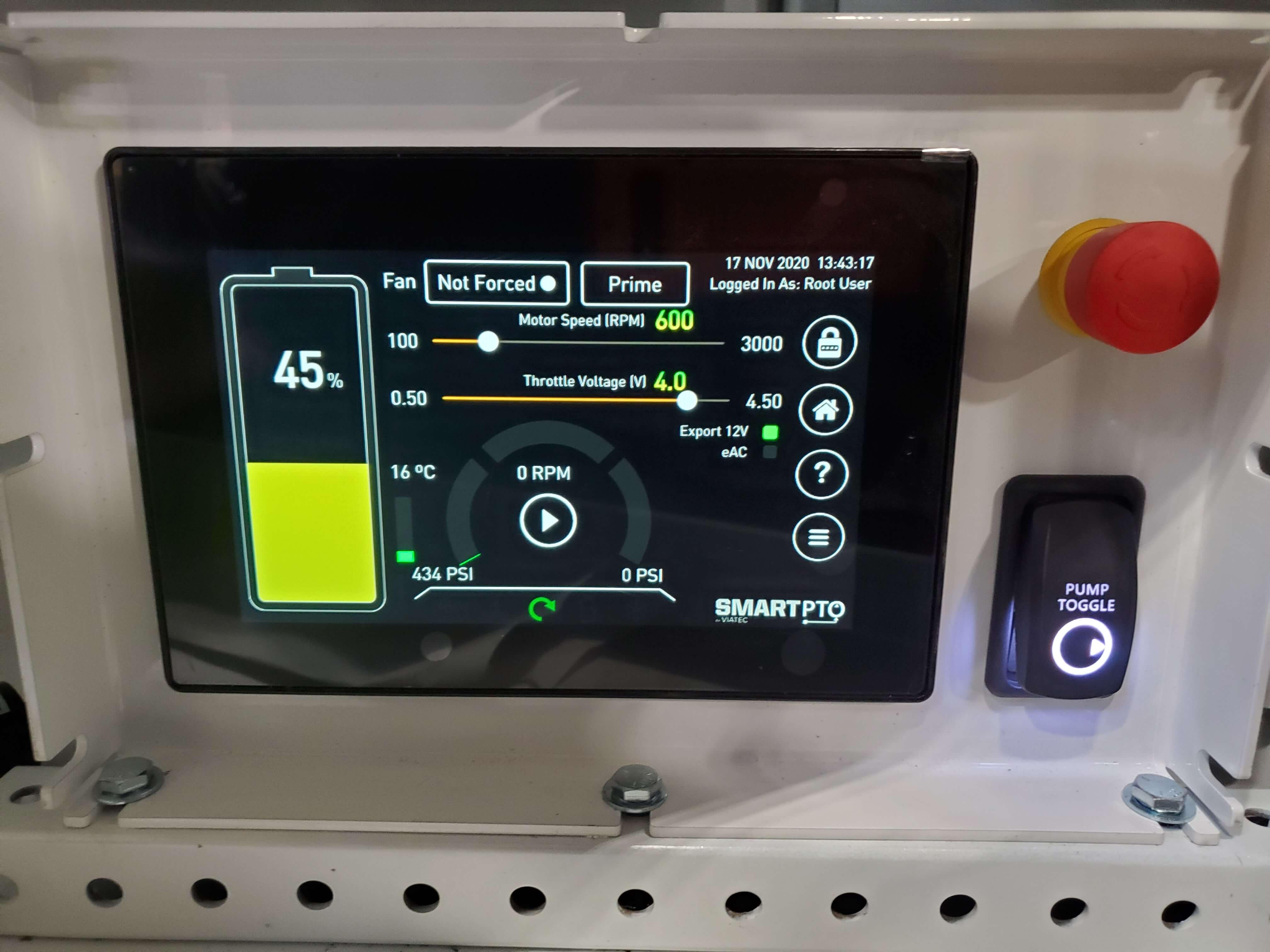 Viatec SmartPTO Display