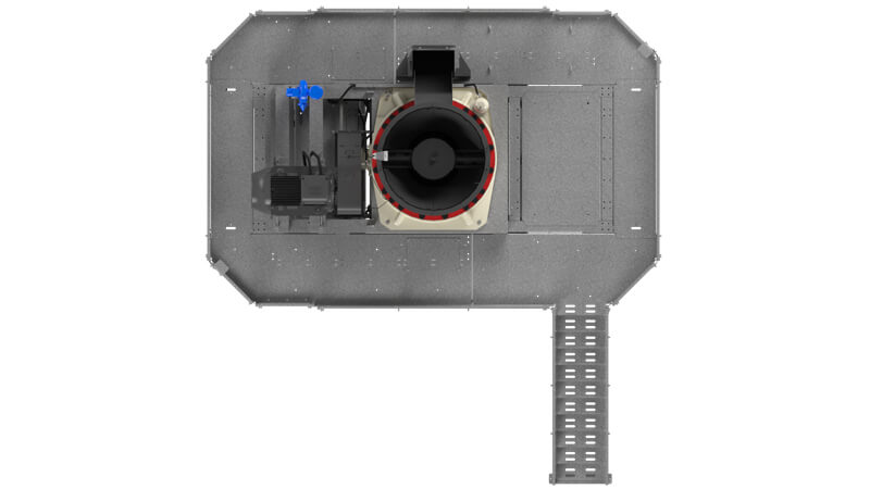 Top View of MC320 cone module