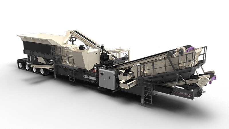 CRH1111R portable plant with optional 20 ft feeder