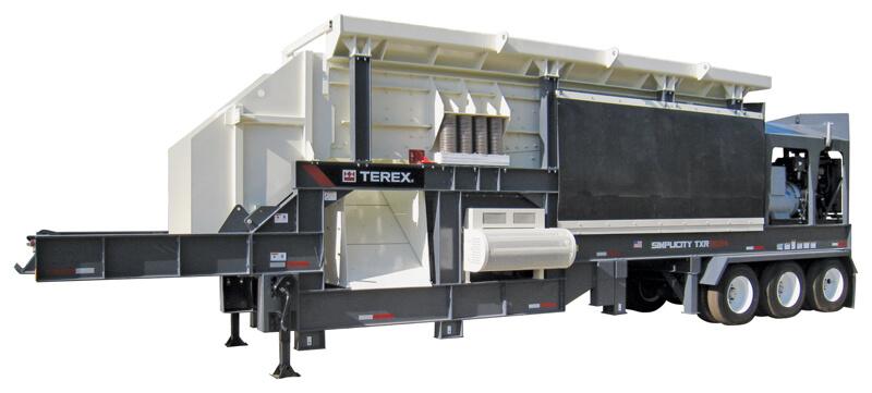 TXR5624 Portable RipRap Plant