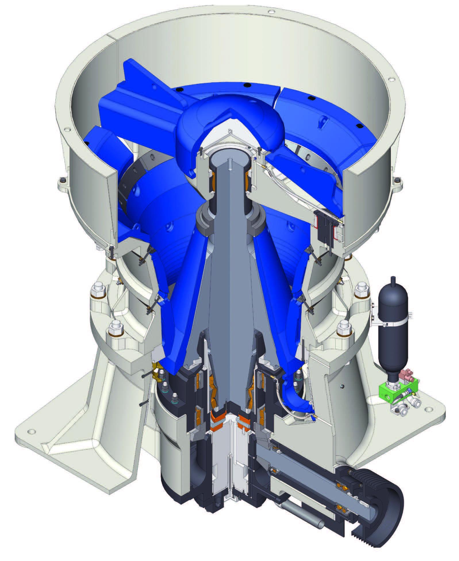 SP50 cone crusher