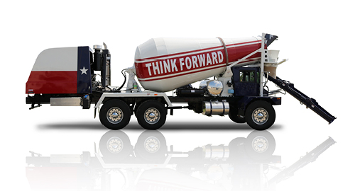 Terex Advance Front Discharge Mixer Trucks | Terex Concrete