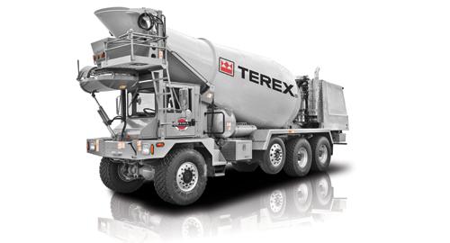 Fd4000 Mixer Truck Terex Advance