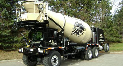 Terex Advance Front Discharge Mixer Trucks