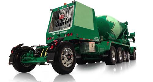 Terex Advance Front Discharge Mixer Trucks | Terex Concrete